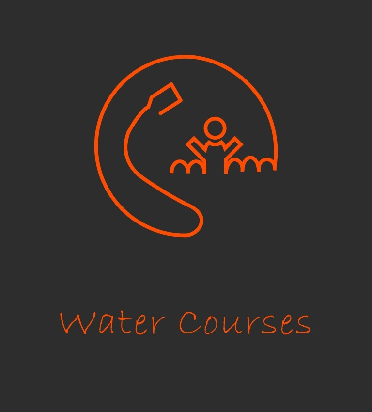 water courses icon